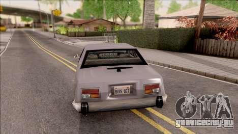 Stepfather Car from Bully для GTA San Andreas вид сзади слева