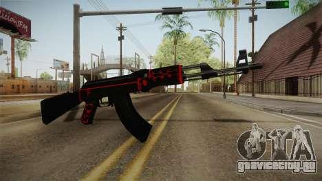CF AK-47 v5 для GTA San Andreas второй скриншот