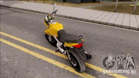 Honda Titan 150 Mix для GTA San Andreas вид слева