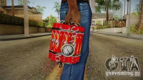 Dynamite With Clock China Wind для GTA San Andreas третий скриншот