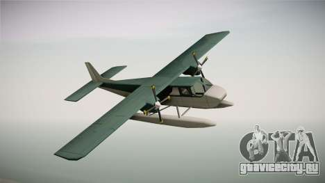 Beagle Sea Plane для GTA San Andreas вид сзади слева