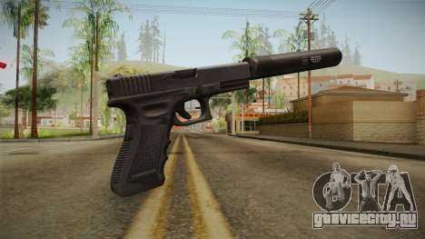 Glock 17 Silenced v2 для GTA San Andreas второй скриншот
