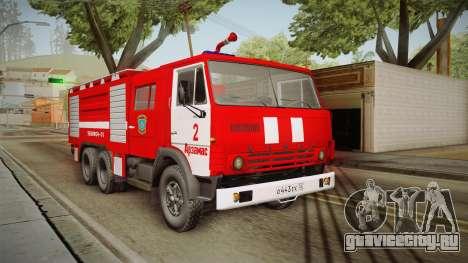 КамАЗ 53212 Пожарная машина города Арзамас для GTA San Andreas
