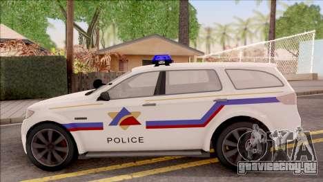 Bravado Gresley Hometown PD 2011 для GTA San Andreas вид слева