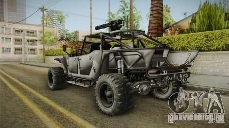 Ghost Recon Wildlands - Unidad AMV для GTA San Andreas вид слева