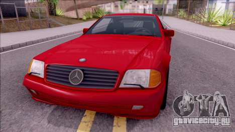 Mercedes-Benz 500SL R129 1989 для GTA San Andreas