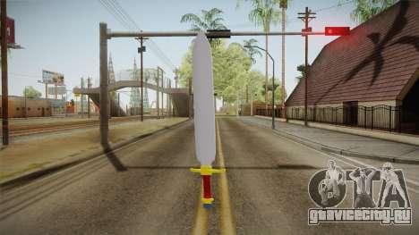 Z Sword From DBZ для GTA San Andreas третий скриншот