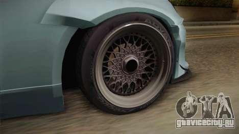 Infiniti G35 Rocket Bunny для GTA San Andreas вид сзади