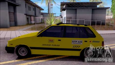 Chevrolet Sprint Taxi Colombiano для GTA San Andreas вид слева