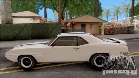Pontiac Firebird Trans Am Coupe 1969 для GTA San Andreas вид слева