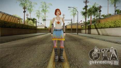 Zoe Taylor from Bully Scholarship v1 для GTA San Andreas второй скриншот
