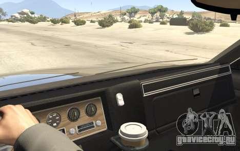Полицейское авто из GTA San Andreas для GTA 5 вид справа