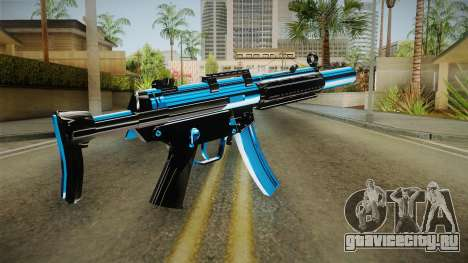 MP5 Fulmicotone для GTA San Andreas второй скриншот