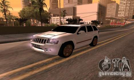Jeep Grand Cherokee SRT8 Armenian для GTA San Andreas