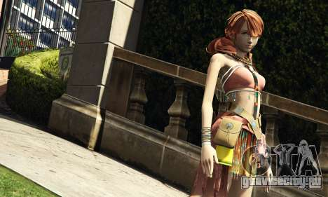 Oerba Dia Vanille для GTA 5 второй скриншот