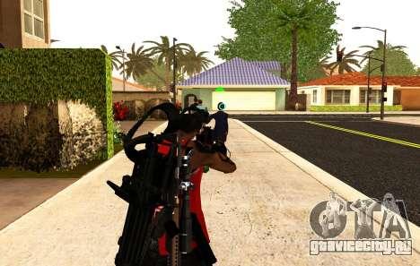 Новый прицел для автоматов и базуки для GTA San Andreas второй скриншот