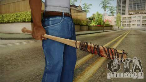 Lucille Negan Baseball Bat The Walking Dead для GTA San Andreas третий скриншот