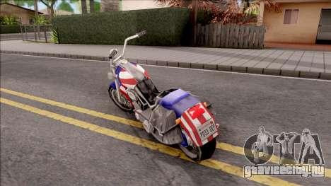 Liberty City Stories Angel для GTA San Andreas вид слева