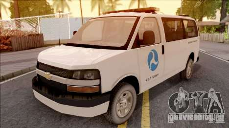 Chevrolet Express San Andreas DOT 2010 для GTA San Andreas