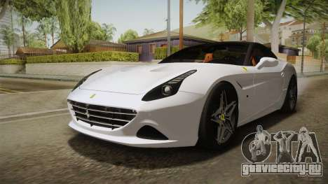 Ferrari California T для GTA San Andreas вид справа