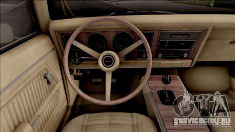 Pontiac Firebird Trans Am Coupe 1969 для GTA San Andreas вид сзади