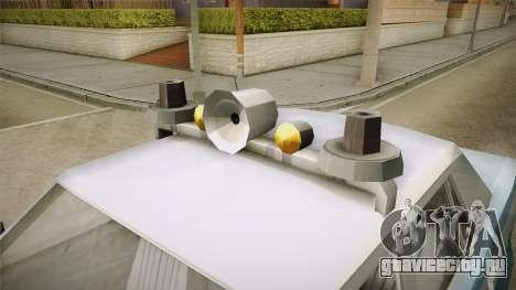Driver Parallel Lines Zartex Police (LS) для GTA San Andreas вид сзади