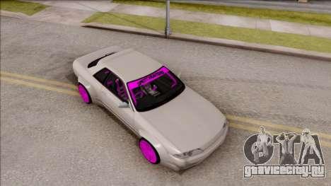Nissan Skyline R32 Rocket Bunny для GTA San Andreas вид справа