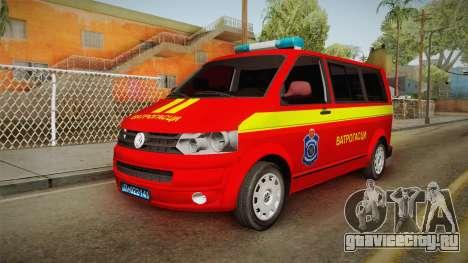 Volkswagen T5 Border Police для GTA San Andreas