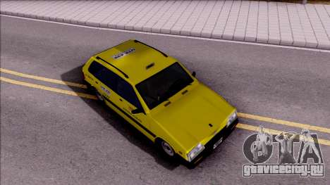 Chevrolet Sprint Taxi Colombiano для GTA San Andreas вид справа