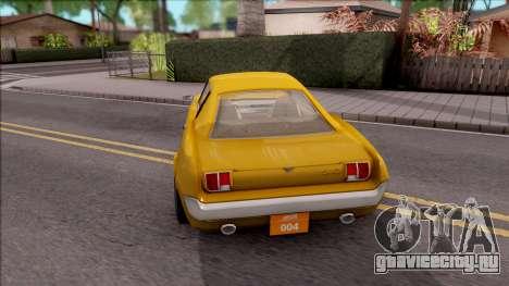 Driver PL Brooklyn V.2 для GTA San Andreas вид сзади слева