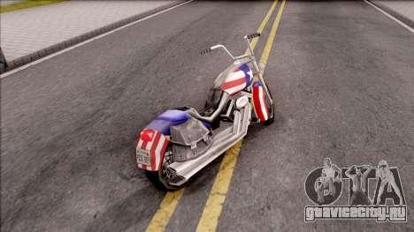 Liberty City Stories Angel для GTA San Andreas вид сзади слева