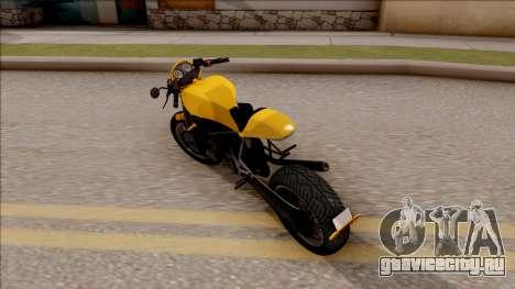 GTA V Imp-Exp FCR1000 для GTA San Andreas вид слева