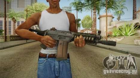 Battlefield 4 SG553 Assault Rifle для GTA San Andreas третий скриншот