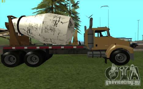 HVY Mixer для GTA San Andreas вид слева