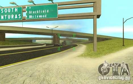 Новый прицел для автоматов и базуки для GTA San Andreas шестой скриншот