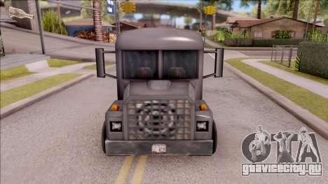 Bus from GTA 3 для GTA San Andreas вид изнутри