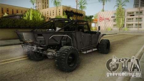 Ghost Recon Wildlands - Unidad AMV для GTA San Andreas вид справа