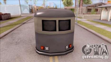 Bus from GTA 3 для GTA San Andreas вид сзади слева