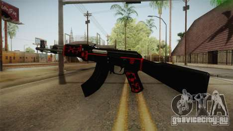 CF AK-47 v5 для GTA San Andreas третий скриншот