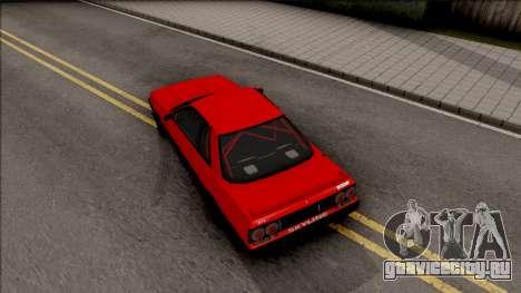 Nissan Skyline R31 v1.0 для GTA San Andreas вид сзади