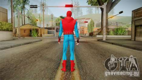 Spider-Man: Homecoming - Homemade для GTA San Andreas третий скриншот
