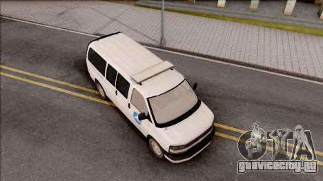 Chevrolet Express San Andreas DOT 2010 для GTA San Andreas вид справа