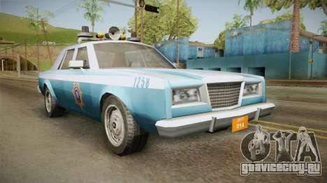 Driver Parallel Lines Zartex Police (LS) для GTA San Andreas