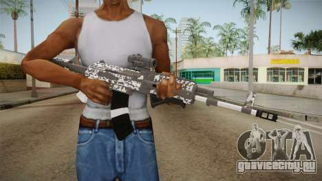 Gunrunning Assault Rifle v2 для GTA San Andreas