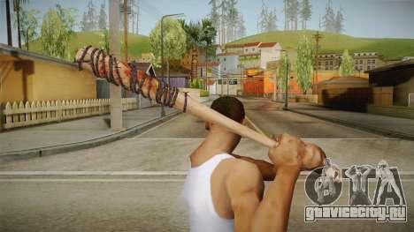 Lucille Negan Baseball Bat The Walking Dead для GTA San Andreas