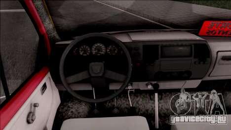 Iveco Turbo Daily для GTA San Andreas вид изнутри