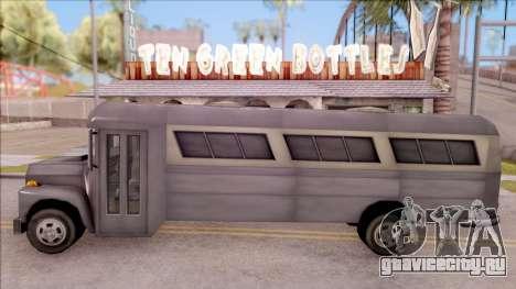 Bus from GTA 3 для GTA San Andreas вид слева