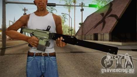 CoD: Infinite Warfare - X-Eon without Grip Green для GTA San Andreas третий скриншот
