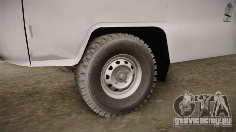 УАЗ-452 Скорая Помощь города Одессы для GTA San Andreas вид сзади
