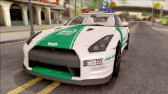 Nissan GT-R R35 Dubai High Speed Police для GTA San Andreas